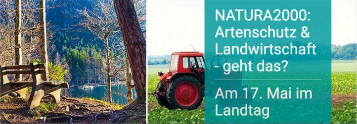 NATURA 2000: Artenschutz & Landwirtschaft - geht das?
