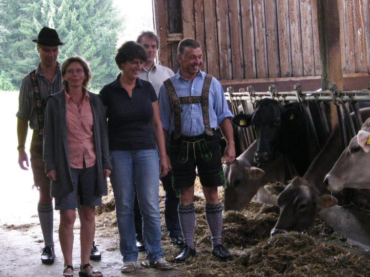FREIE WÄHLER auf dem Bauernhof