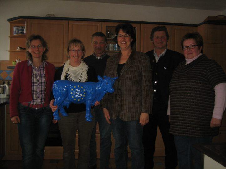 Treffen mit Vertretern des Bundesverband Deutscher Milchviehhalter